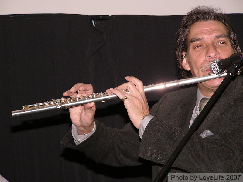 Dave Valentin ~ Flute Richie Flores ~ Congas Nicolas Marrero ~ Drums Andy  Gonzales ~ Bass Dr. Willie Rodriguez ~ Piano